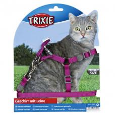 Купить Trixie 41891 Шлейка с поводком для кошки  Premium  26-37 см  10 мм Фото 1 недорого с доставкой по Украине в интернет-магазине Майзоомаг