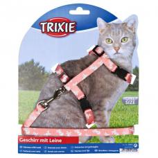 Купить Trixie 41892 Шлейка с поводком для кошки  25-44 см 10 мм Фото 1 недорого с доставкой по Украине в интернет-магазине Майзоомаг