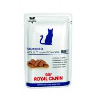 Royal Canin NEUTERED ADULT MAINTENANCE 100 г Влажный корм для кастрированных - стерилизованных котов и кошек до 7 лет 12 шт