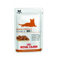 Royal Canin VD POUCH SENIOR CONSULT STAGE 2 WET 100 г Влажный корм для кошек  12 шт