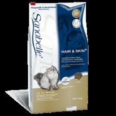 Корм Bosch (Бош) 10 кг, для кожи и шерсти кошек, sanabelle hair&skin