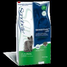 Купить Корм Bosch (Бош) 2 кг, с птицей для кошек с чувствительным желудком и длинношерстных кошек, Sanabelle Sensitive Фото 1 недорого с доставкой по Украине в интернет-магазине Майзоомаг