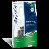 Корм Bosch (Бош) 10 кг, с птицей для кошек с чувствительным желудком и длинношерстных кошек, Sanabelle Sensitive