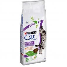 Корм Cat Chow (Кэт Чау) 15 кг, -профилактический для кошек предотвращающий образование волосяных комочков, Hairball Control