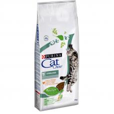 Корм Cat Chow (Кэт Чау) 15 кг, для стерилизованных и кастрированных котов, Sterilized