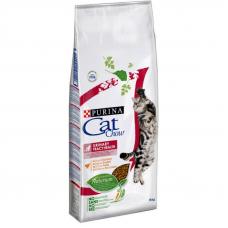 Корм Cat Chow (Кэт Чау) 15 кг, для кошек для профилактики мочекаменной болезни, Urinary