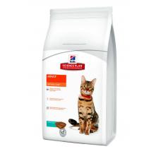 Корм Hills (Хиллс) 10 кг, для взрослых кошек с тунцом, Science Plan Feline Adult