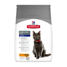 Hills (Хиллс) Science Plan Feline Mature Adult 7+ Sterilised- корм для кастрированных кошек старше 7 лет 3,5 кг