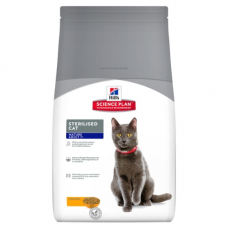 Корм Hills (Хиллс) 1,5 кг, для кастрированных кошек старше 7 лет, Science Plan Feline Mature Adult 7+ Sterilised