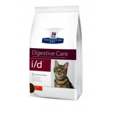 Hills (Хиллс) Prescription Diet Feline i-d -лечебный корм при заболеваниях ЖКТ, панкреотите 5 кг