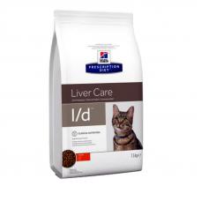 Корм Hills (Хиллс) 1,5 кг, заболевания функций печени  кошек, Prescription Diet Feline l-d