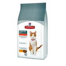 Корм Hills (Хиллс) 1,5 кг, для кастрированных котов, Science Plan Feline Young Adult Sterilised Cat