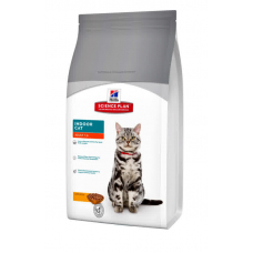 Hills (Хиллс) Science Plan Feline Adult Indoor Cat -корм для домашних кошек с курицей 4 кг