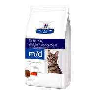 Корм Hills (Хиллс) 1,5 кг, лечение сахарного диабета и ожирения у кошек, Prescription Diet Feline m-d