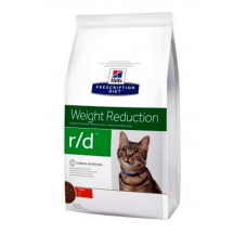 Корм Hills (Хиллс) 5 кг, лечебный корм для кошек при ожирении, Prescription Diet Feline r-d