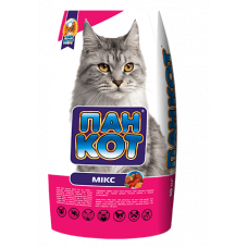 """Купить Корм Пан-Кот """"Микс"""", 10 кг, для кошек, полнорационное сбалансированное питание Фото 1 недорого с доставкой по Украине в интернет-магазине Майзоомаг"""