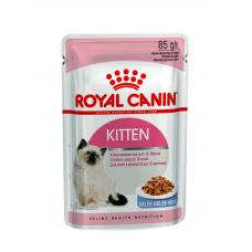 Купить Упаковка Kitten Instinctive в желе (до 12 месяцев) 12 шт 85г Фото 1 недорого с доставкой по Украине в интернет-магазине Майзоомаг