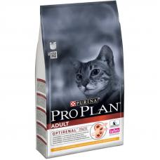 Корм Pro Plan (Про План) 1,5 кг, для взрослых котов и кошек с курицей, Adult Chicken