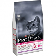 Корм PRO PLAN® DELICATE для взрослых кошек с чувствительным пищеварением, с индейкой 10 кг .