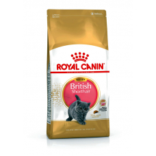 Корм Royal Canin (Роял Канин) 2 кг, корм для британских короткошерстных котят в возрасте до 12 месяцев, Kitten British Shorthair