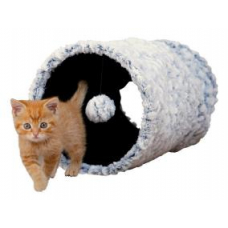 TRIXIE 43003 Тоннель игровой для котов плюшевый 25*50