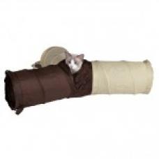 TRIXIE 4305 Тоннель игровой для котов три рукава нейлон  22*62