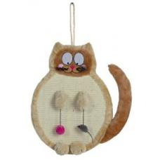 Купить TRIXIE 43118 Когтеточка Кот подвесной и напольный бежевый 36*50 см Фото 1 недорого с доставкой по Украине в интернет-магазине Майзоомаг
