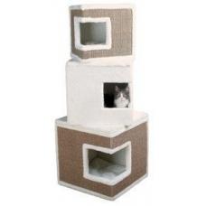 TRIXIE 43377 Дом когтеточка для котов LILO 123 см белый