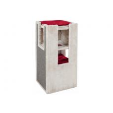 """Купить TRIXIE 43378 Домик башня """"Mora"""" 78 см серо красный Фото 1 недорого с доставкой по Украине в интернет-магазине Майзоомаг"""