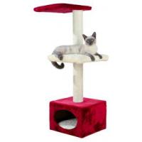 Trixie 43811 Когтеточка дом для котов Elena 109 см красно бежевая