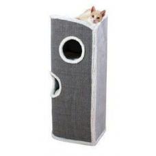 Купить TRIXIE 44702 Когтеточка башня для котов  CIRO 1100 см бело серая Фото 1 недорого с доставкой по Украине в интернет-магазине Майзоомаг