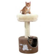Купить TRIXIE 44780 Когтеточка дом для котов Elisa 78 см коричнево бежевая Фото 1 недорого с доставкой по Украине в интернет-магазине Майзоомаг