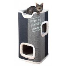 TRIXIE 44957 Когтеточка дом башня для котов Jorge 78  см серый с антроцитом