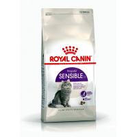 Сухой корм для привередливых кошек с чувствительным пищеварением Royal Canin Sensible 33, 2 кг