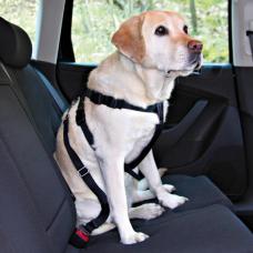 Купить TRIXIE 1292  Шлея для собак автомобильная 70-90 см черная Фото 1 недорого с доставкой по Украине в интернет-магазине Майзоомаг