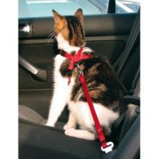 Купить TRIXIE 1294 Шлея с поводком для кота транспортировочная 20-50 см 15 мм красная Фото 1 недорого с доставкой по Украине в интернет-магазине Майзоомаг