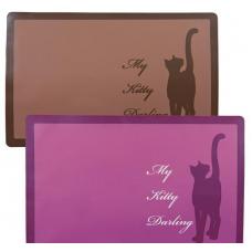"""Trixie 24473 Коврики под миску """"My Kitty Darling"""" 44х28 см"""