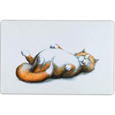 """Купить Trixie 24475 Коврик под миску """"Thick cat"""" 44*28 см Фото 1 недорого с доставкой по Украине в интернет-магазине Майзоомаг"""