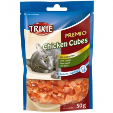 TRIXIE 42706   КУБИКИ PREMIO CHICKEN CUBES  КУРИЦА  50 г