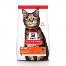 Купить HILL'S SCIENCE PLAN Adult Сухий Корм для Котів з Ягням і Рисом - 1,5 кг Фото 1 недорого с доставкой по Украине в интернет-магазине Майзоомаг