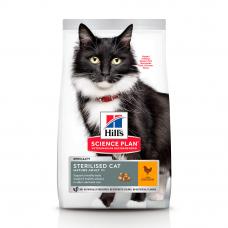 HILL'S SCIENCE PLAN Mature Sterilised Cat Сухий Корм для Котів з Куркою 300 г