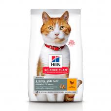 HILL'S SCIENCE PLAN Young Adult Sterilised Cat Сухий Корм для Котів з Куркою 3 кг
