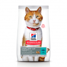HILL'S SCIENCE PLAN Young Adult Sterilised Cat Сухий Корм для Котів з Тунцем 1,5 кг