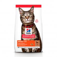 Купить HILL'S SCIENCE PLAN Adult Сухий Корм для Котів з Ягням і Рисом 10 кг Фото 1 недорого с доставкой по Украине в интернет-магазине Майзоомаг