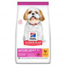 Купить HILL'S SCIENCE PLAN Mature Adult Small & Mini Сухий Корм для Собак з Куркою 1,5 кг Фото 1 недорого с доставкой по Украине в интернет-магазине Майзоомаг