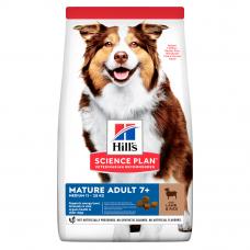 Купить HILL'S SCIENCE PLAN Mature Adult Medium Сухий Корм для Собак з Ягням і Рисом 2,5 кг Фото 1 недорого с доставкой по Украине в интернет-магазине Майзоомаг