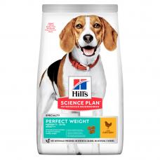 Купить HILL'S SCIENCE PLAN Adult Perfect Weight Medium Сухий Корм для Собак з Куркою 12 кг Фото 1 недорого с доставкой по Украине в интернет-магазине Майзоомаг