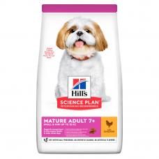 Купить HILL'S SCIENCE PLAN Mature Adult Small & Mini Сухий Корм для Собак з Куркою 6 кг Фото 1 недорого с доставкой по Украине в интернет-магазине Майзоомаг