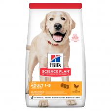 Купить HILL'S SCIENCE PLAN Adult Light Large Breed Сухий Корм для Собак з Куркою - 14 кг Фото 1 недорого с доставкой по Украине в интернет-магазине Майзоомаг