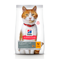HILL'S SCIENCE PLAN Young Adult Sterilised Cat Сухий Корм для Котів з Куркою 15 кг